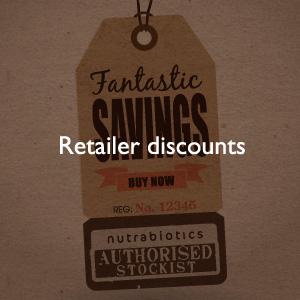 Retailer discounts
